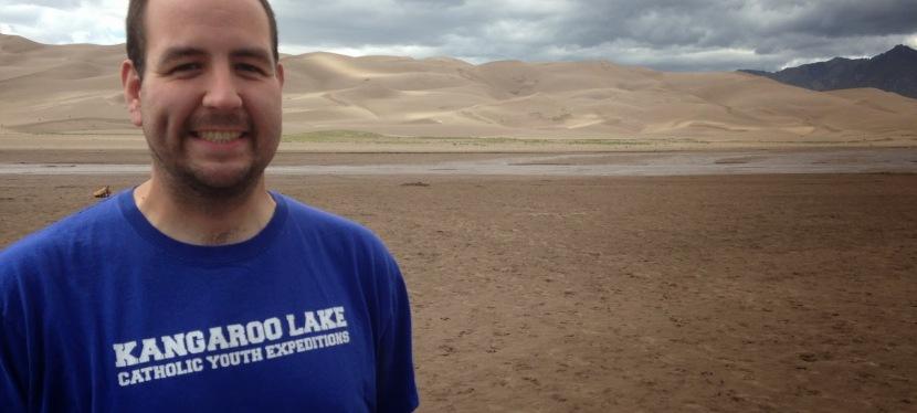 Sand Dune Sledding to Kick off 3rdTheology!