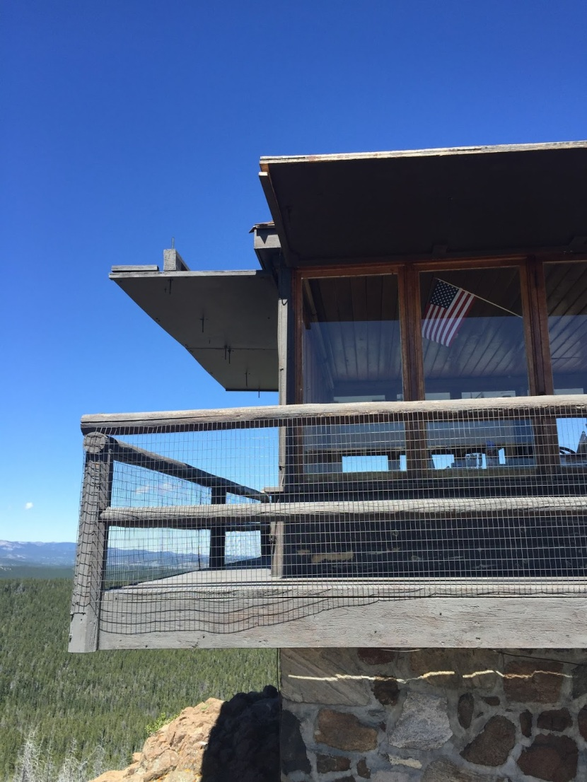 Sheep Mountain Lookout Tower