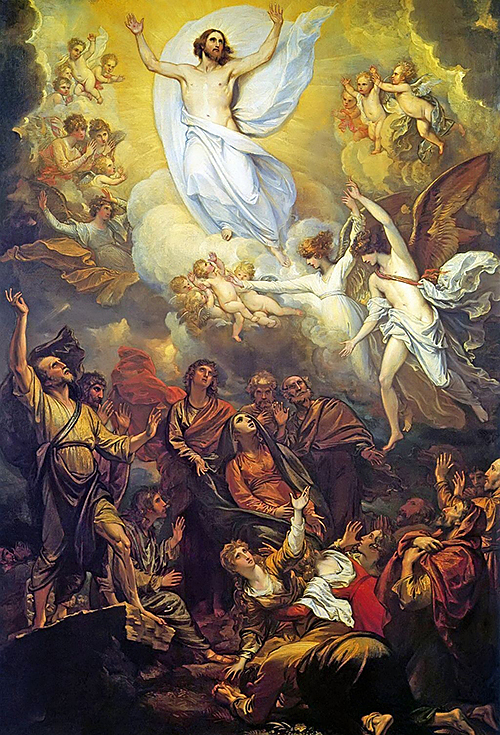 The Ascension of the Lord, Not Jesus' Farewell – My Homily notes for the Solemnity of the Ascension of the Lord