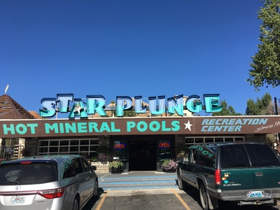 Star Plunge hot Mineral Pools!