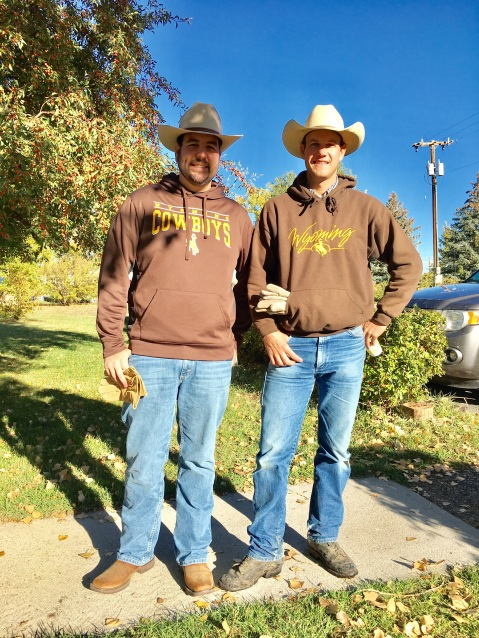 Two cowboy clergy.