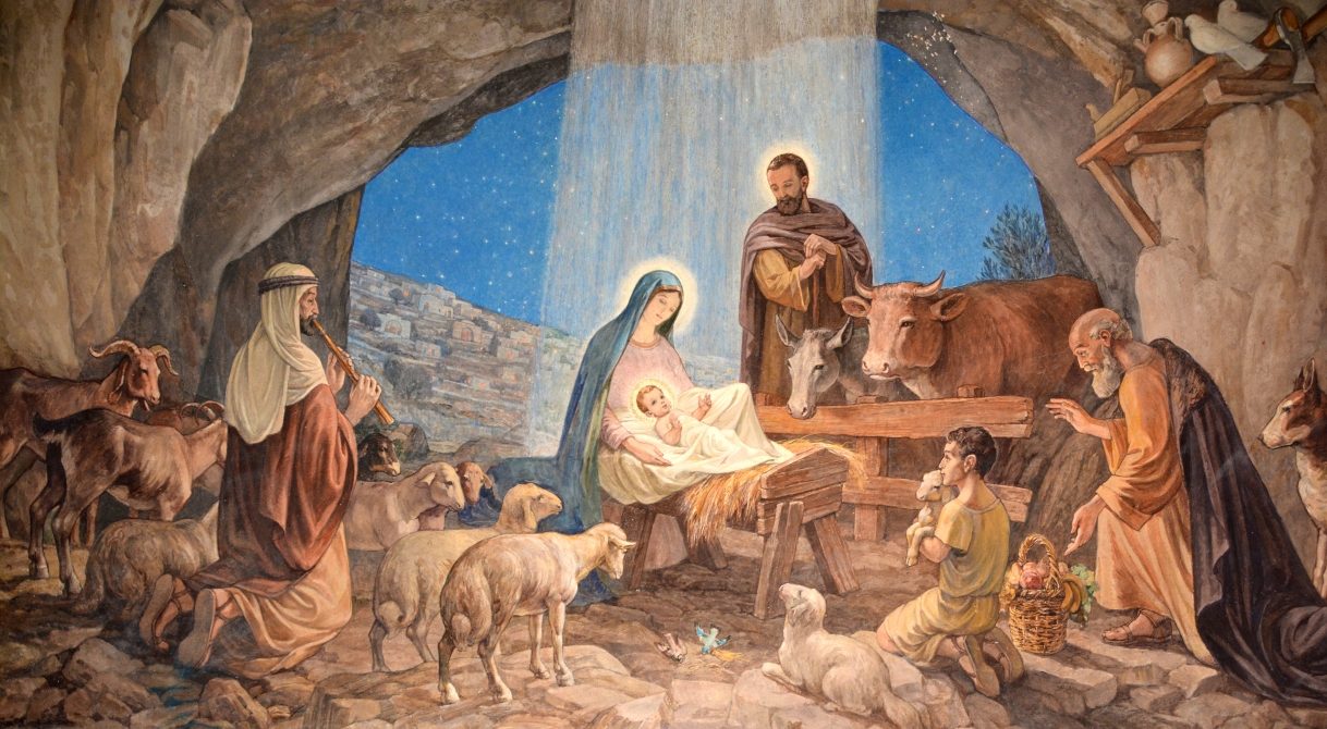 Jesus' Gift of Transforming the Messiness of Humanity into Beauty – My Homily for Christmas Mass during the Night (2015)