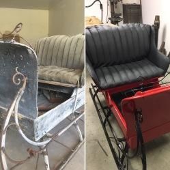 The sleigh restored!